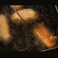 Best Oil For Deep Fat Frying - Coconut Oil and Corn Dogs