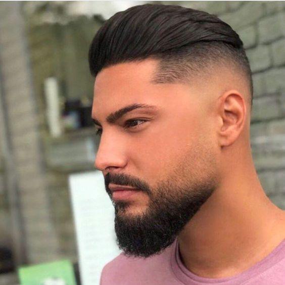 مدرج حلاقة قصات شعر رجالي قصير جدا
