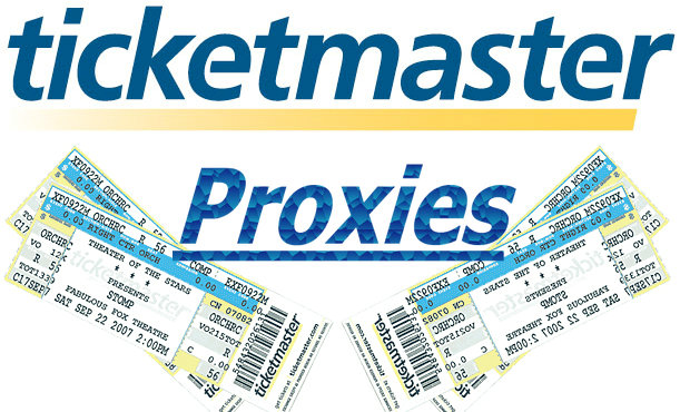 Proxies for Ticketmaster & Ticketing proxies