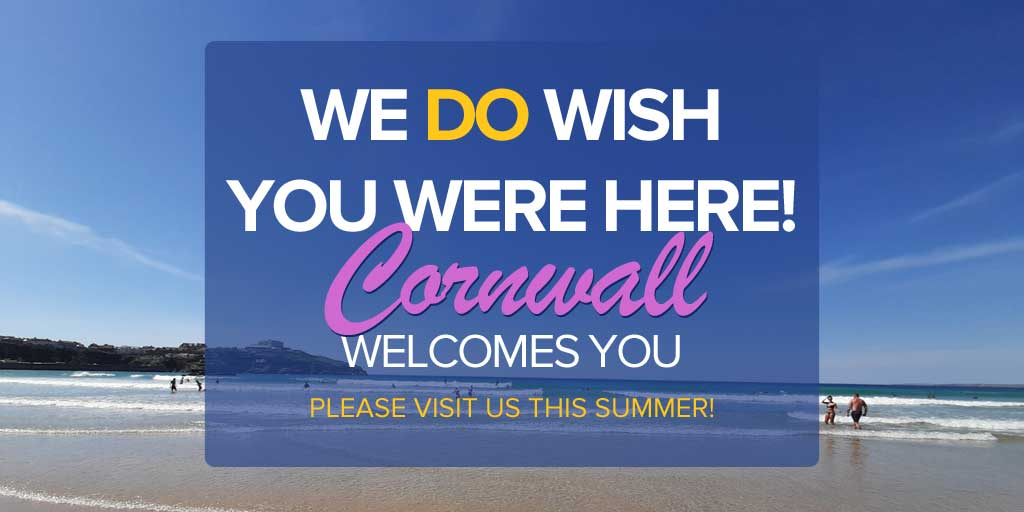 Cornwall Welcomes you this Summer