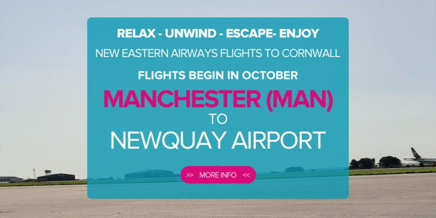 manchester to newquay flights