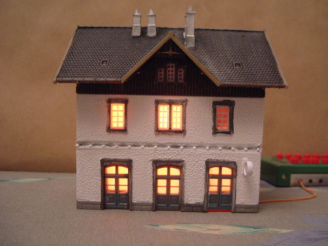 Model Railway Realistic Building Lighting