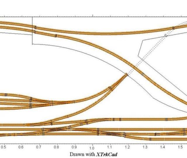 Model Railway Track Layout Desgn Xtrkcad