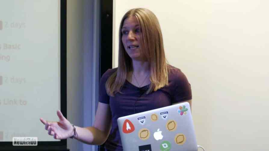 Hannah Chaplin at Lean Startup Yorkshire