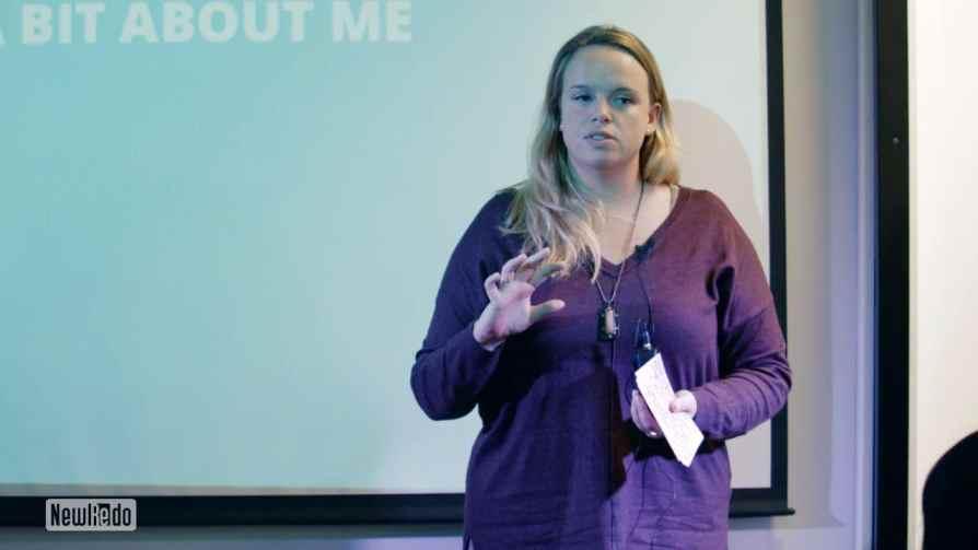 Amy Lynch at Agile Yorkshire