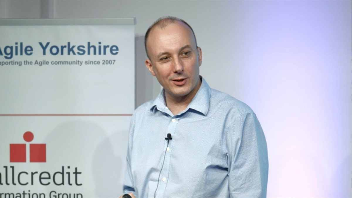 Mike Burrows at Agile Yorkshire 2016
