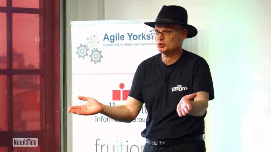Ivor Tymchak at Agile Yorkshire