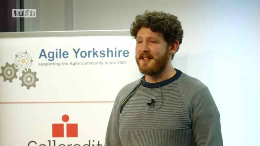 John Le Drew at Agile Yorkshire