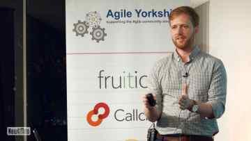 Ian Thomas at Agile Yorkshire