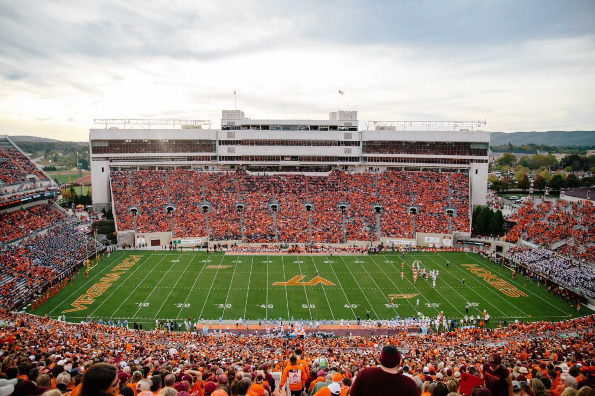 Lane Stadium is the Largest Stadium in VA | Virginia's New River Valley