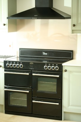 Jefferson sage - Belling 100cm range cooker and extractor hood