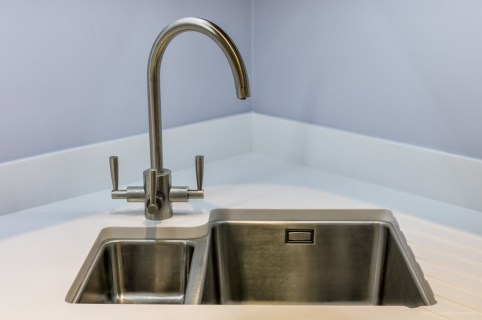 Franke undermount sink and FilterFlow tap