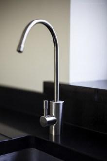 Franke Filterflow tap in silk steel