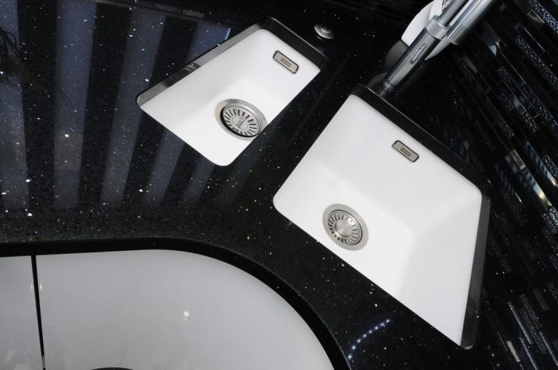 Franke Fragranite Sink in polar white