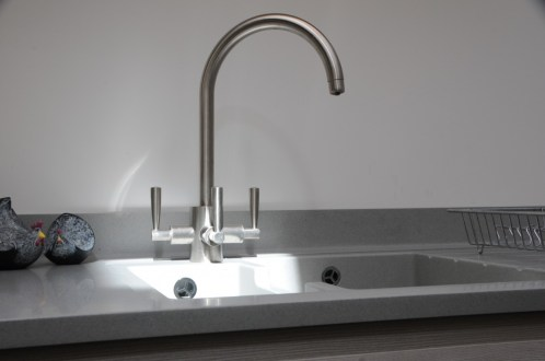 Franke Olympus Filterflow Tap in Brushed Steel