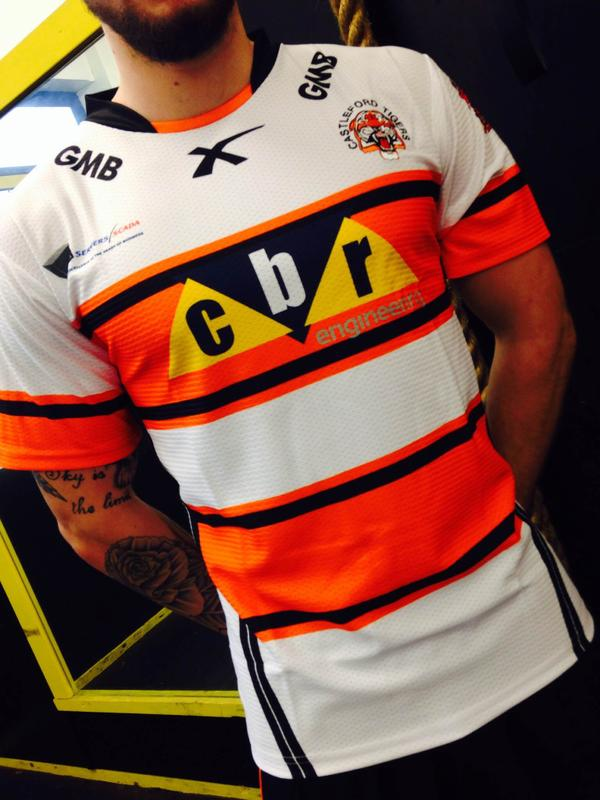 Castleford Tigers New Away Kit 2015 XBlades | New Rugby Kits