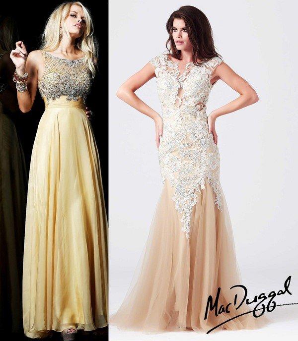 Самые красивые вечерние платья в пол, фото вечерних ...