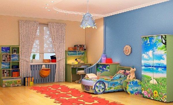 Дизайн детской комнаты, детская комната - фото, идеи для ...