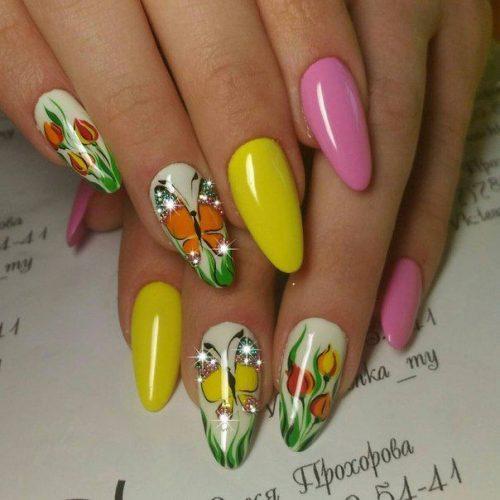 Самый красивый и стильный дизайн ногтей весна-лето 2020 ...