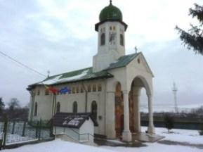 Biserica din satul Sagna