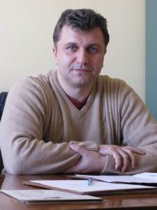 Comisarul şef Dragoş Bălău, comandantul Poliţiei Roman