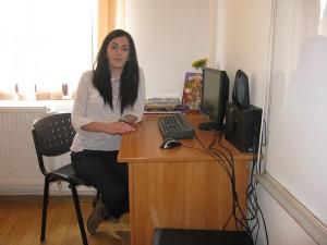Profesorul de sprijin Ioana Andreea Mărtinaş