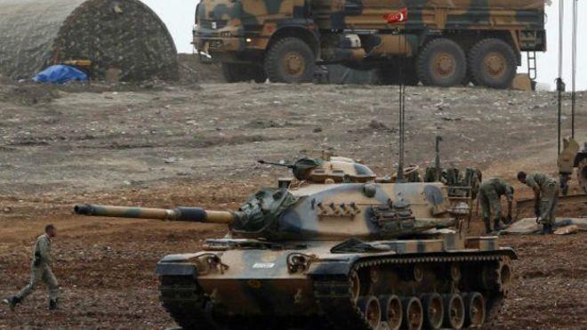 Турецкие военные отразили атаку на лагерь в Башике