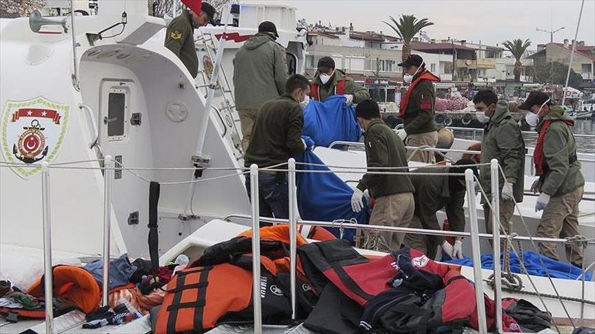 У побережья Чанаккале утонуло 39 мигрантов