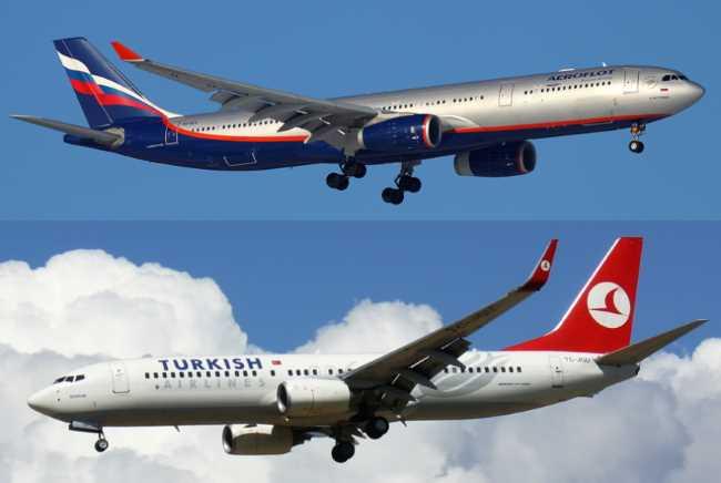 Росавиация: Увеличения количества рейсов в Турцию не будет