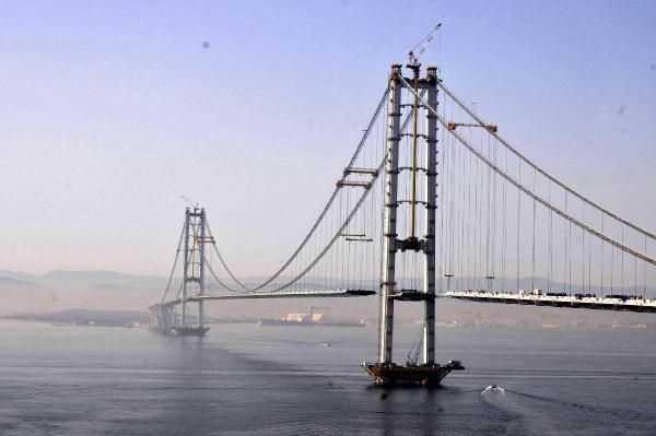 Проезд по мосту в Измите составит 120 лир