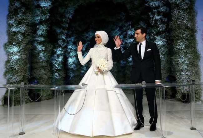 Свадьба года прошла в Стамбуле
