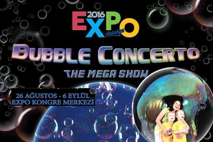 Всемирно известное шоу мыльных пузырей на ЭКСПО