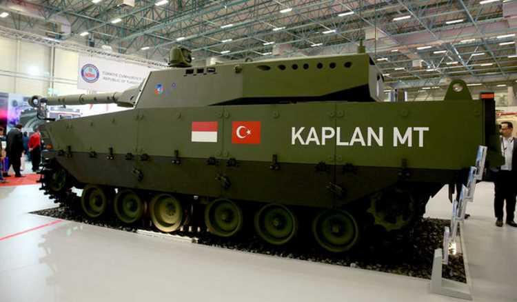 Турецкий танк встал на вооружение Индонезии