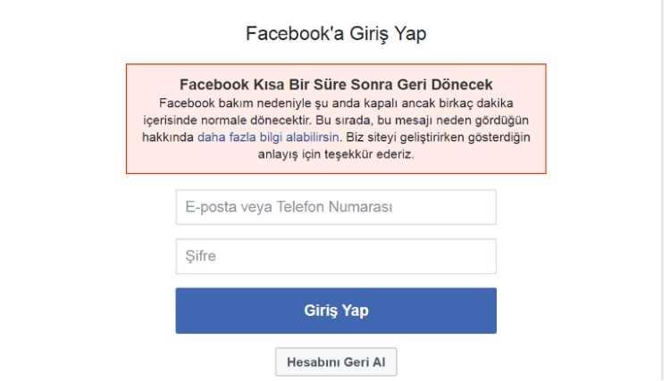 Турция испытывает проблемы с Facebook и Instagram