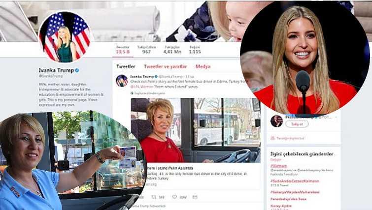 Дочь Трампа сделала женщину из Эдирне знаменитостью