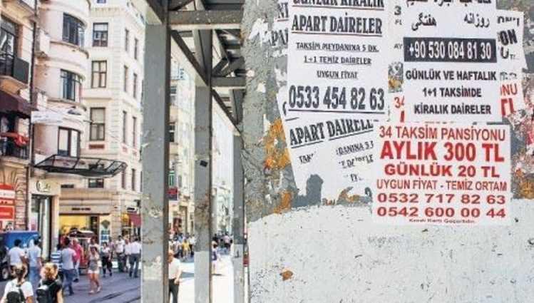 Стамбул собрал 10 млн лир штрафов с квартирных аренд