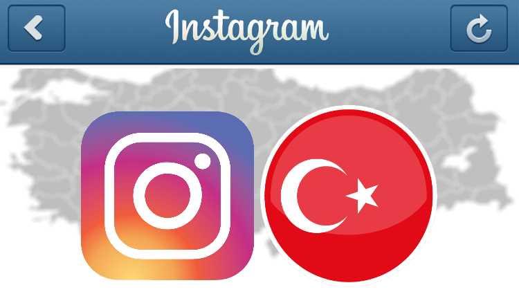 Турецкие пользователи Instagram столкнулись с проблемой