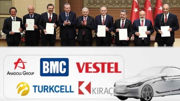 Турция намерена начать выпуск 5 моделей отечественных авто