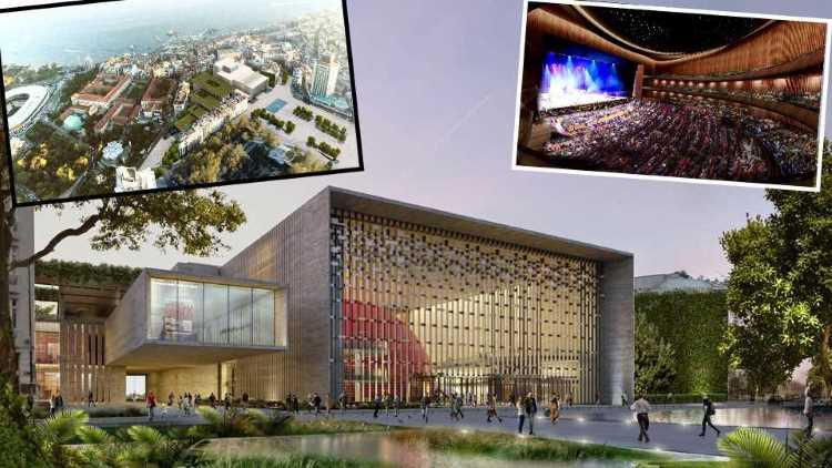 Представлен грандиозный проект культурного центра АКМ