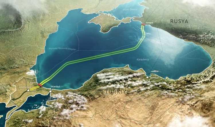 «Турецкий поток» добрался до границы Турции