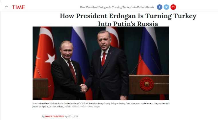 Как президент Эрдоган превращает Турцию в путинскую Россию