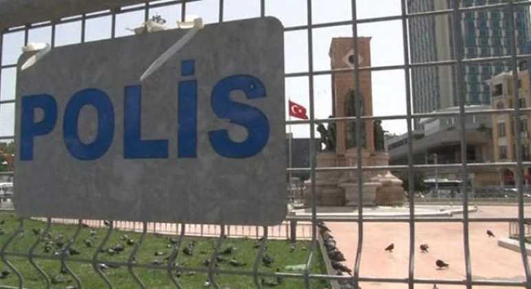 Полиция перекрыла подходы к площади Таксим