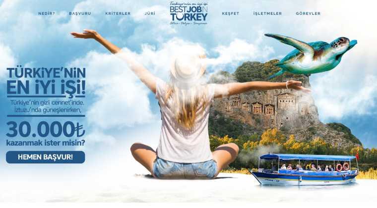 Турецкий курорт ищет «профессионального туриста»