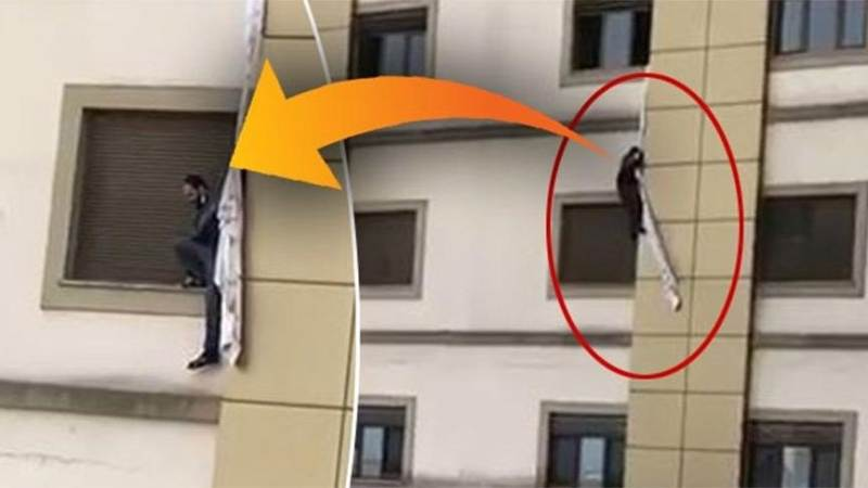 Пациенту не удалось сбежать из больницы в Трабзоне