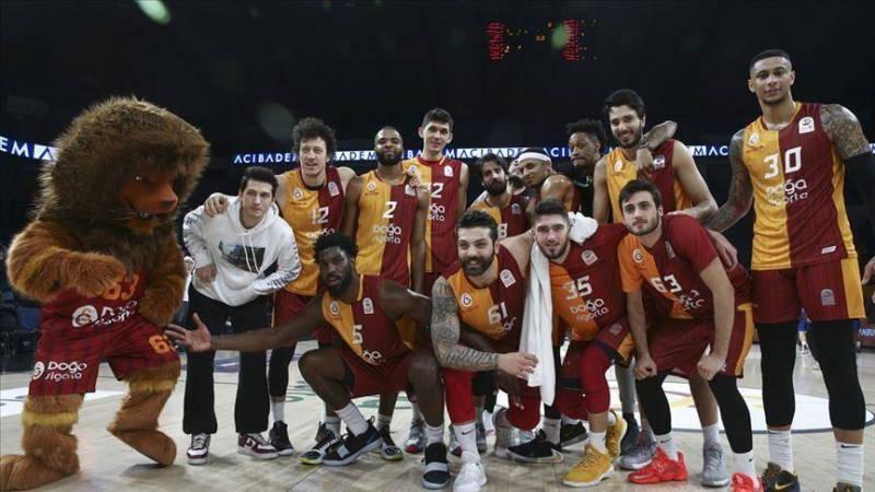 Галатасарай выступит в  Лиге Чемпионов FIBA