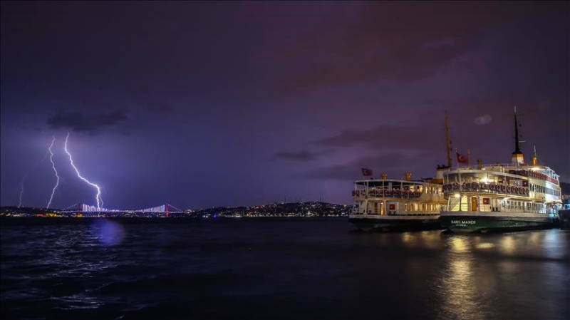 Грозы пройдут от Стамбула до Анталии