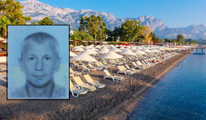 Украинский турист погиб в турецком Кемере