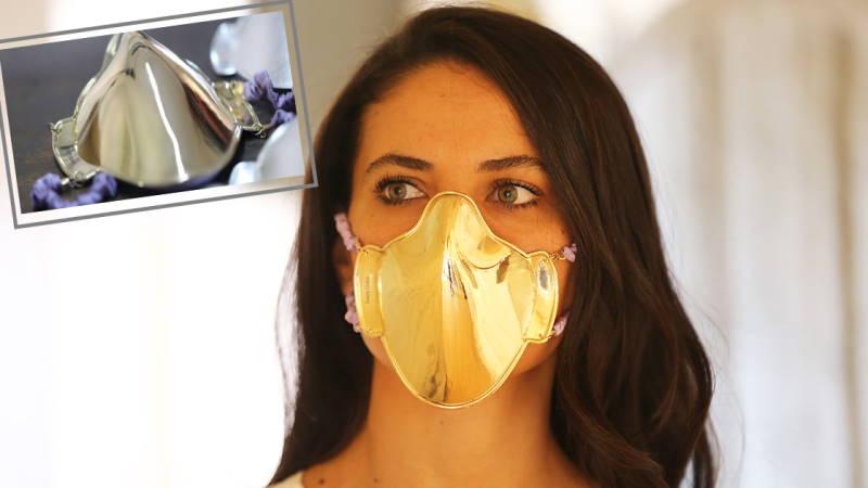 Люкс-маски из Стамбула: серебряная — 1500, золотая 20 000 лир
