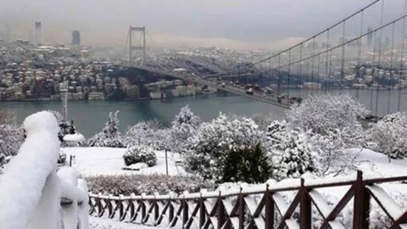 Холод продержится в Турции до четверга