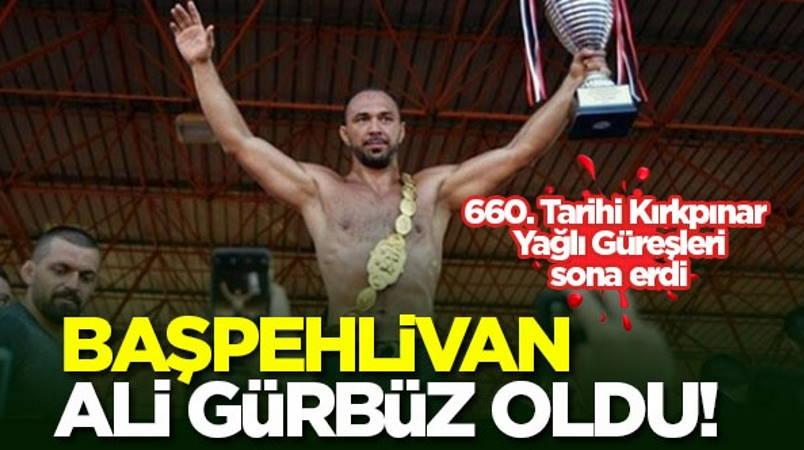 Анталийский борец в 4-й раз становится «башпехливаном»
